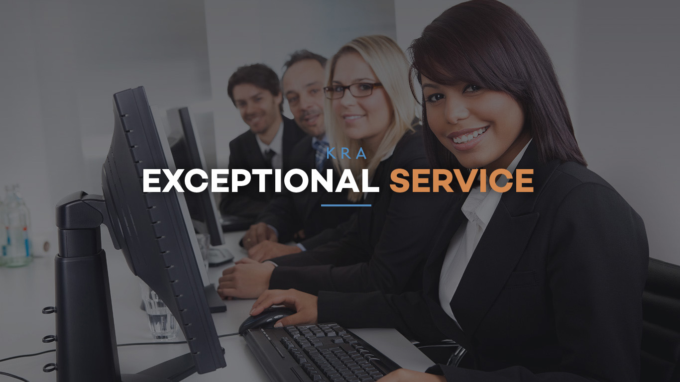 KRA Exceptional Service